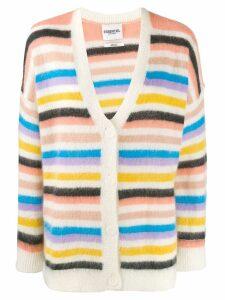 Essentiel Antwerp striped cardigan - Pink