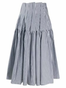 Jourden striped midi skirt - Blue