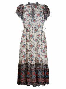 Ulla Johnson floral flared dress