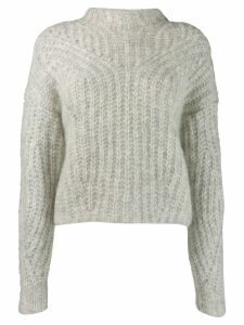 Isabel Marant fitted knit sweater - Grey