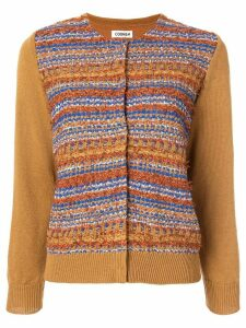 Coohem autumn mix tweed cardigan - Brown