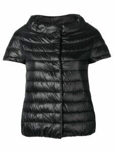 Herno short sleeve puffer jacket - Black