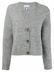 Ganni oversized cardigan - Grey