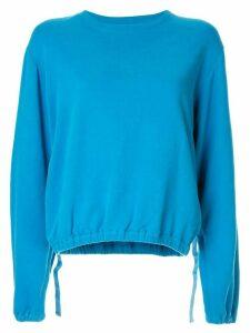 Helmut Lang vintage Terry sweatshirt - Blue
