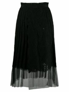 Ermanno Scervino lace overlay skirt - Black