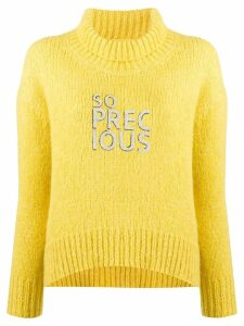 Ermanno Scervino So Precious jumper - Yellow