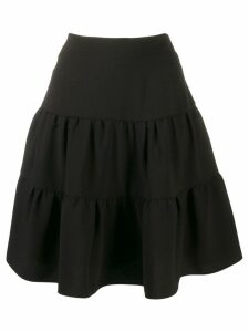 Chloé tiered skirt - Black