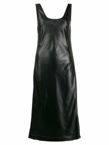 Acne Studios satin midi dress - Black