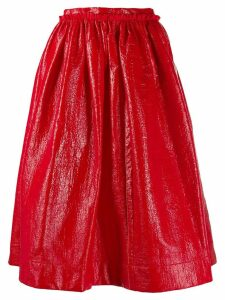 Marni full pleated skirt - 00R60 RASPBERRY