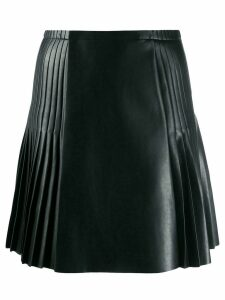 Ermanno Scervino panelled pleated skirt - Black