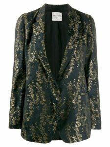 Forte Forte embroidered blazer - Black
