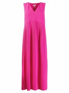Kenzo pleated midi dress - Pink