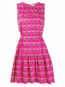 Kenzo logo print sleeveless dress - Pink
