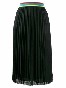 M Missoni mesh pleated skirt - Black