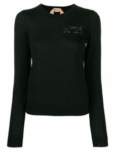 Nº21 logo sweatshirt - Black