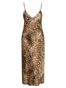 Nili Lotan Ginger slip dress - Gold