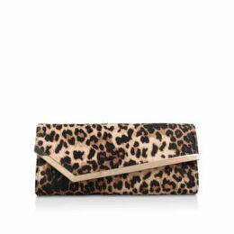 Miss Kg Hannah - Leopard Print Clutch Bag