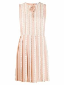 Red Valentino RED(V) pleated midi dress - Pink