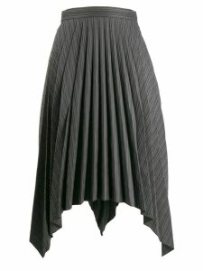 Acne Studios asymmetrical handkerchief skirt - Black