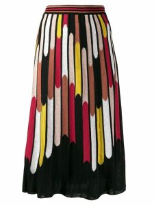 M Missoni all-over print skirt - Black