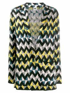 M Missoni geometric print blazer - Black