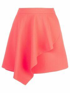 Alice+Olivia Nicky draped mini skirt - Orange