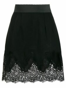 Dolce & Gabbana lace skirt - Black