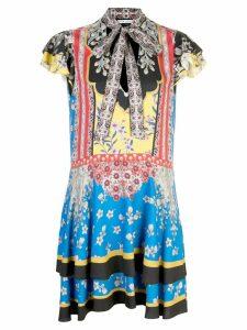 Alice+Olivia patterned short dress - Multicolour