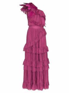 Johanna Ortiz God of the Night ruffle dress - Pink