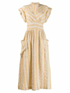 Three Graces Clarissa dress - Neutrals