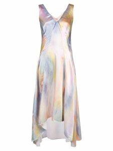 Sies Marjan Miriam printed V-neck midi dress - Multicolour