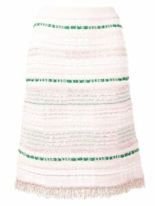 Thom Browne Light Pink Tweed Skirt
