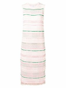 Thom Browne Pink Tweed Shift Dress