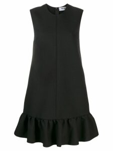 MSGM peplum hem shift dress - Black