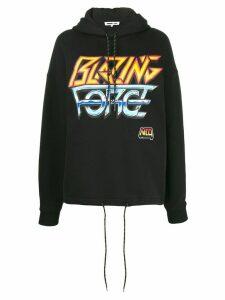 McQ Alexander McQueen 'Blazing Force' hooded sweatshirt - Black