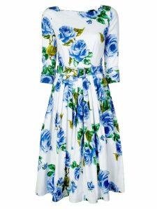 Samantha Sung Florance Dress - Blue