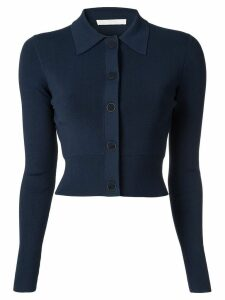 Dion Lee cropped cardigan - Blue