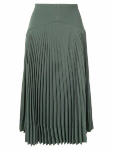 Dion Lee annex pleat skirt - Green