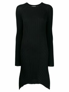 Helmut Lang ribbed day dress - Blue