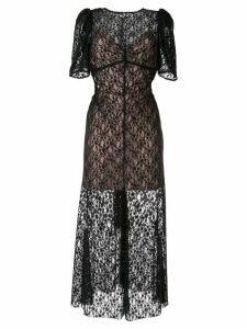Alice Mccall On + On midi dress - Black