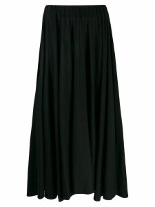 Jil Sander pleated skirt - Black