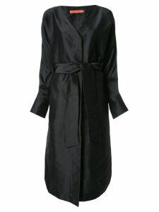 Manning Cartell midi wrap dress - Black