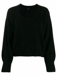 Pinko crew neck pullover - Black