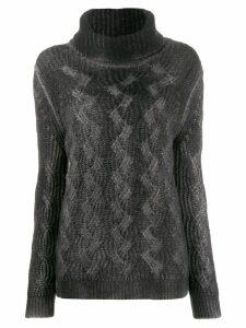 Avant Toi turtle neck jumper - Grey