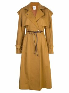 Sea long trench coat - Brown