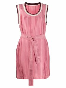 Golden Goose belted shift dress - Pink