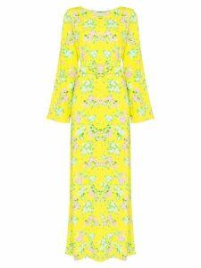 Bernadette Monica floral print maxi dress - Yellow