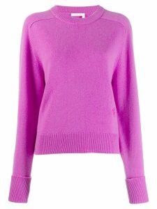 Chloé knit sweater - Purple