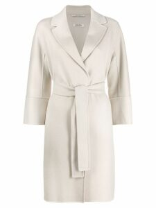 'S Max Mara belted coat - Neutrals