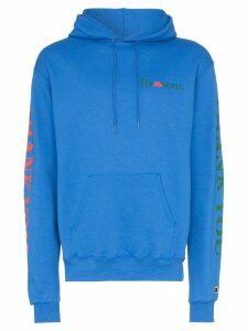 Chinatown Market X Browns printed hoodie - Blue